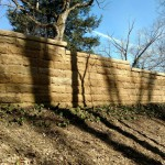 Natural Sandstone Retaining Wall